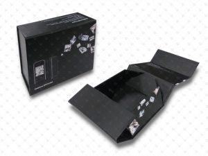 Rigid box; Foldable; PP Lamination; Paper insert; paper tray; paper pulp; Spot UV