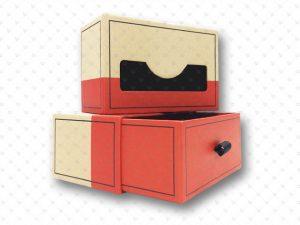 Rigid Box; PP Lamination; Ribbon